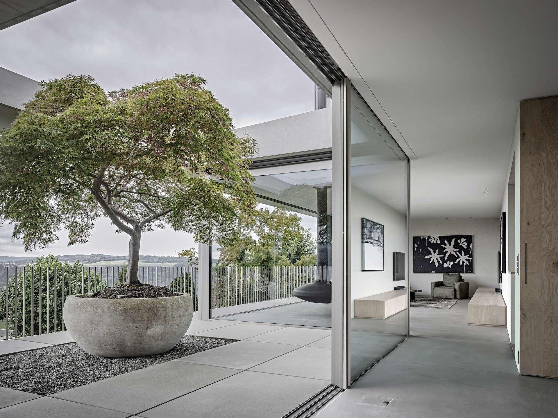 Rahmenlose schiebefenster und t ren fenster ohne rahmen - Finestre senza telaio ...