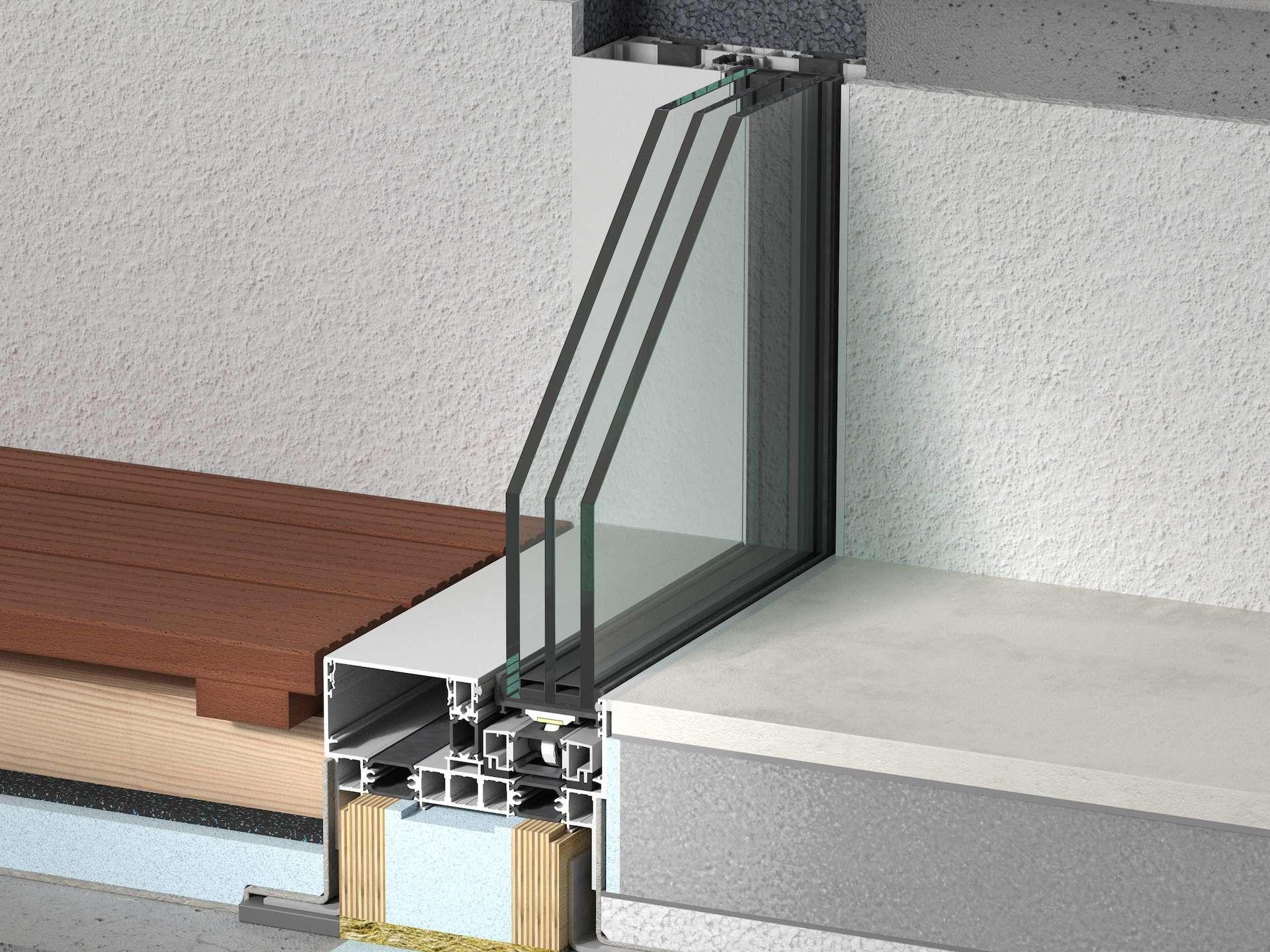 rahmenlose schiebefenster und t ren fenster ohne rahmen raumhohe fenster premiumfenster. Black Bedroom Furniture Sets. Home Design Ideas